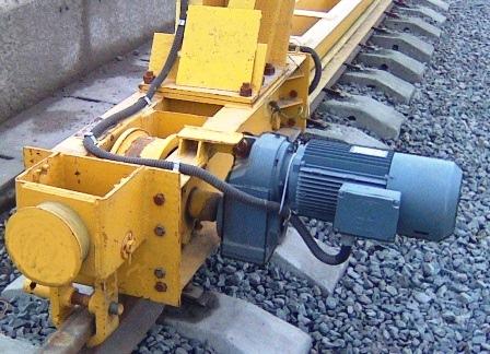 Мотор-редуктор механизма передвижения крана